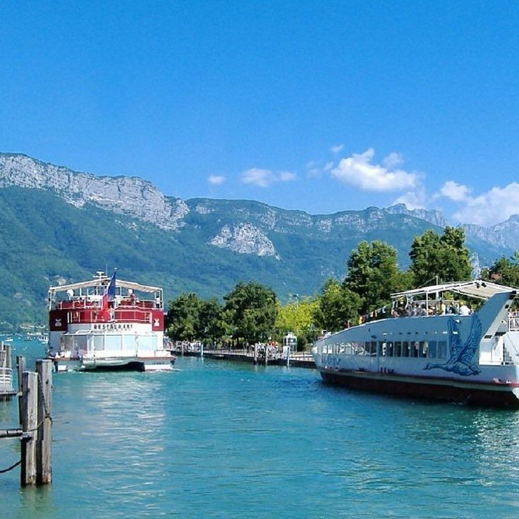 Annecy and its Lake  le MS Libellule partant pour une croisière sur le lac #annecy #annecylake #france #tott #town #lake #lac #beautiful #veilleville #riviere #rhonealpes #alpes #oldtown #montagnes #mountains #oldtownannecy #lacdannecy #summer2016 #summer #thiou #hautesavoie #boat #tree #relax #night #coucherdesoleil