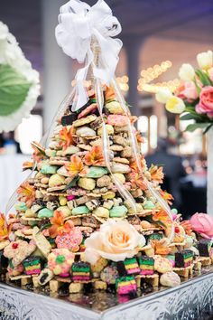 Traditional Italian Wedding Cookie Cake