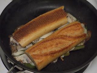 Portabella Mushroom Cheesesteak | lake shore lady recipes | Pinterest