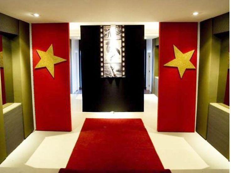 Resultado de imagem para festa decoração cinema