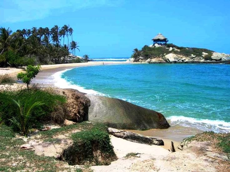 Colombia - Parque Nacional Tayrona, playa San Juan, Departamento del Magdalena.