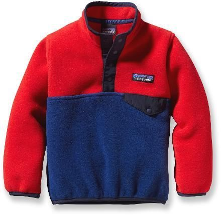 Patagonia Baby Synchilla Pullover, CHANNEL BLUE, $59, 12 mos