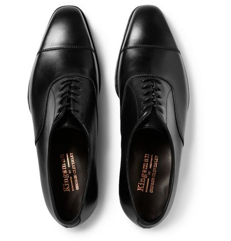 KingsmanGeorge Cleverley Leather Oxford Shoes.  MR PORTER.  mrporter.com