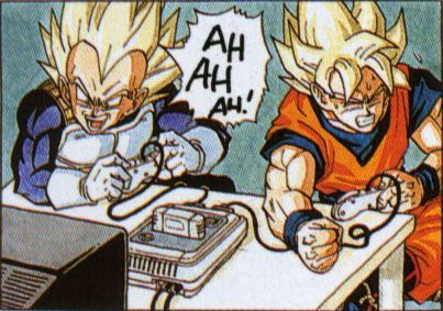 Apparently Goku & Vegeta's Rivalry Extends to Video Games