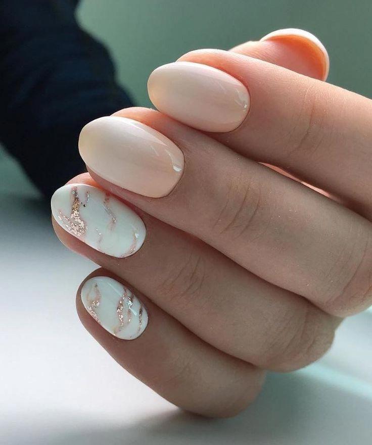 Schöne Herbst Nail Art Ideen, um sexy auszusehen 27 – Outfital.com – #nailBright #nailGlitter #nailNeon #nailPretty