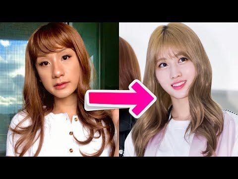 I Became A Girl K Pop Idol For A Day Momo From Twice Youtube In 2020 Kpop Idol Girl Gifs Kpop
