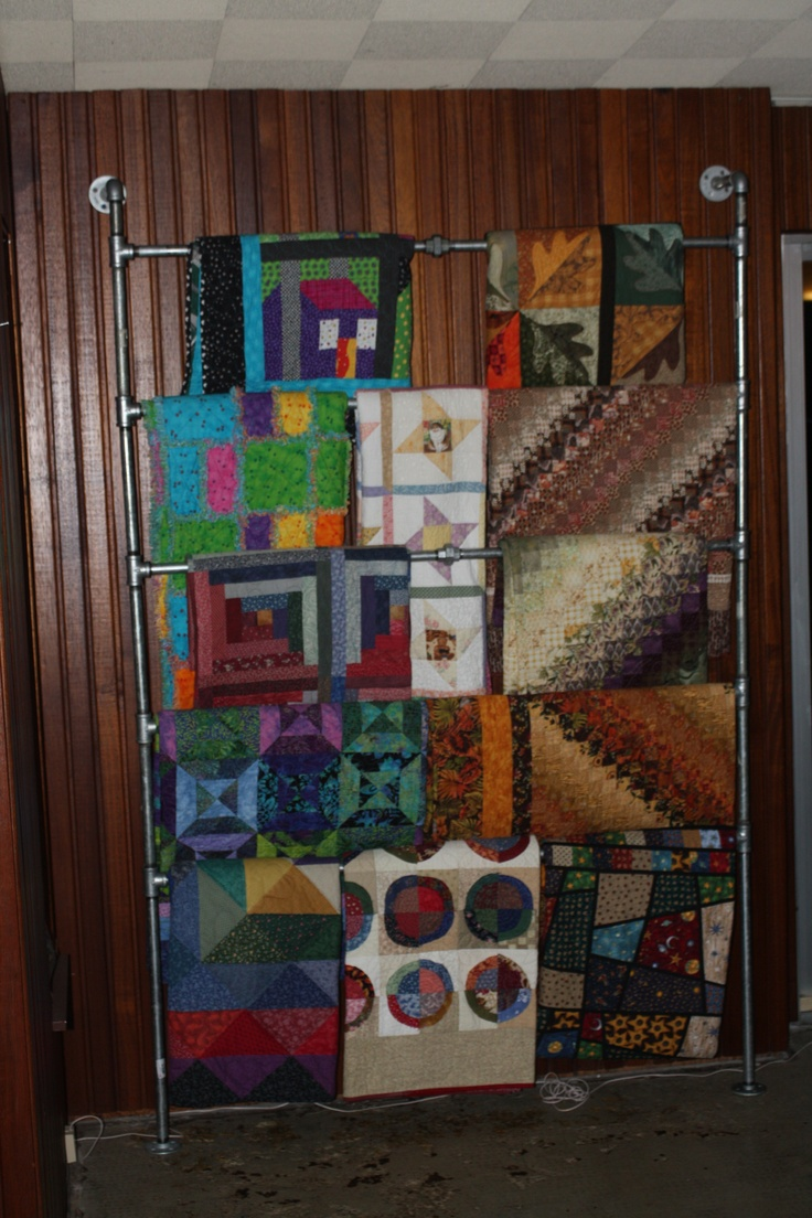 plans quilt hanger rack pioneerproduceofnorthpole mount com display for wall free