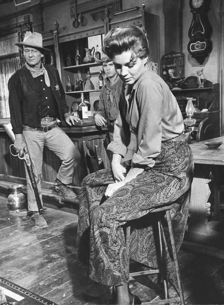 Angie Dickinson On Bar Stool With John Wayne Rio Bravo 24X30 Poster At Movie Poster Kings we pride ourselves in bringing you the most unique posters at a very special price. Description from ie.picclick.com. I searched for this on bing.com/images