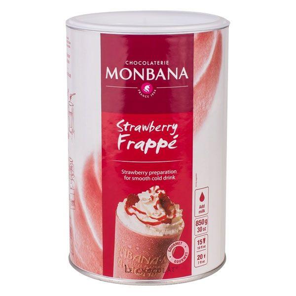 Monbana Strawberry Frappe
