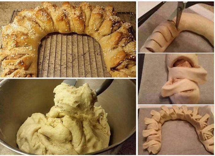 Flettekrans /kringle -med bilder (matfrabunnenfb.blogg.no)