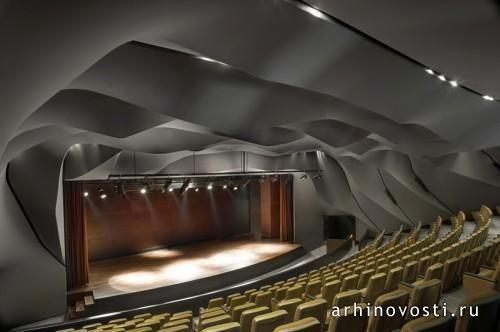 Дизайн интерьера театра «Masrah Al Qasba» от magma architecture. Шарджа, ОАЭ.