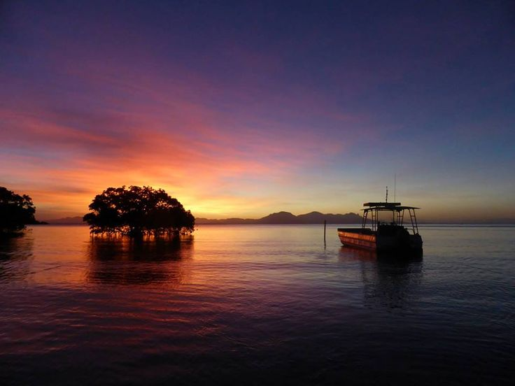 Sunset at JCU's magnificent Orpheus Island Research Station - what a place to work!