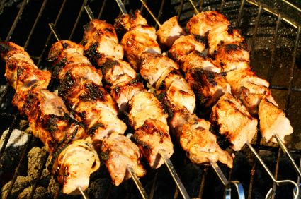 Russian Shashlik.... looks good... What can I say? I'm missing Moscow just a little bit lately... :)