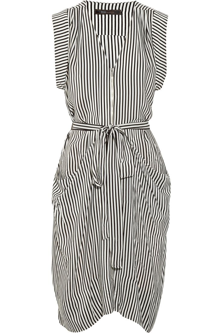BCBG Draped striped silk dress: Fashion Dresses, Silk Dresses, Stripes Silk, Summer Work Dresses, Bcbg Draping, Bcbg Dresses, Bcbgmaxazria Draping, Draping Stripes, Cool Dresses