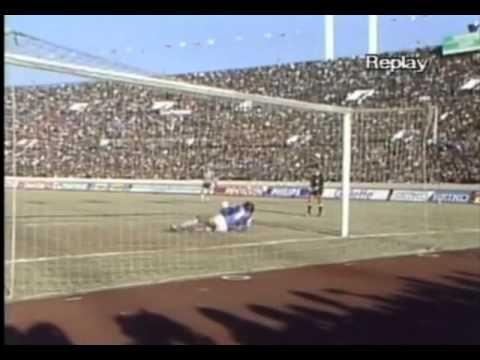 Nacional Campeón Copa Toyota 1988 Penales (Carlos Muñoz) - YouTube