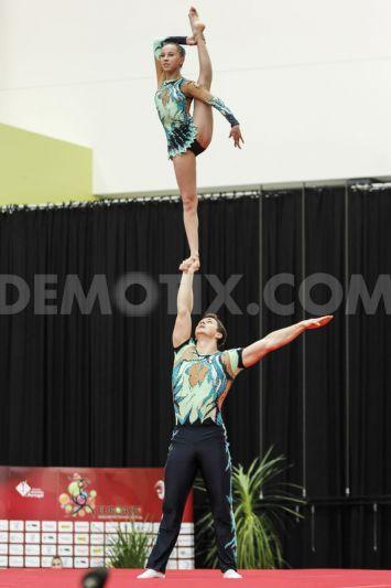 acrobatic gymnastic