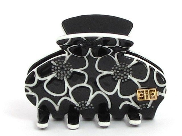 Our Angelina hairclip is monochrome and gorgeous!  #Hair #HairClip