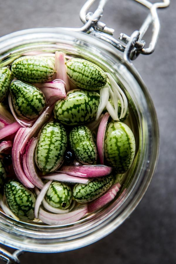 Are you looking for the best refrigerator pickles recipe? You need to start with the best cucumber, then! These watermelon cucumber quick pickles are as adorable as they are delicious. Easy to make, sweet and sour with an incredible taste. This makes a small batch, no cook for crispy and crunchy overnight success. Try them for your next BBQ summer party or potluck, they will make you the star of any gathering and are super portable for picnics, too.
