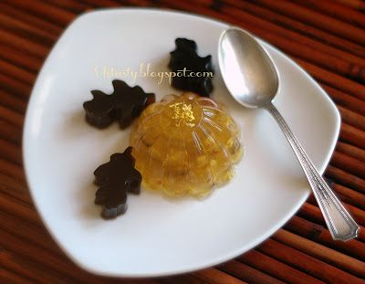 MzTasty's Kitchen, Savor The Flavor: Osmanthus Blossoms Jelly/Guì Huā Gāo (桂花糕)