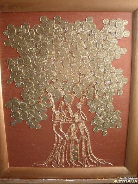 Картины «Денежное дерево семейного счастья и процветания»