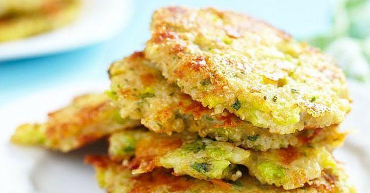 Recept na zeleninové placičky