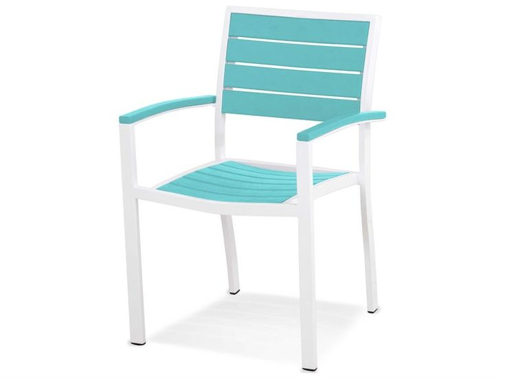 POLYWOOD® Euro Recycled Plastic Dining Chair   A200