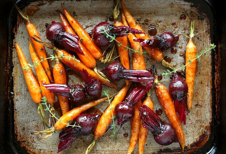 This easy glaze gives roast vegetables a delicious caramelised flavour.