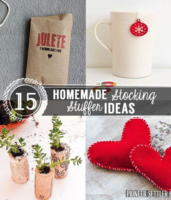 Best 25 Homemade Stocking Stuffers Ideas On Pinterest