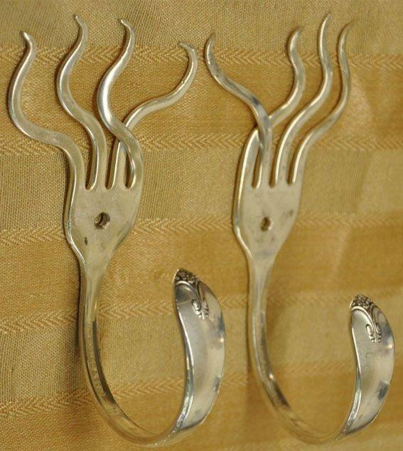 knag af gaffel #knage af gafler