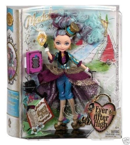 Ever After High LEGACY DAY MADELINE HATTER DOLL NEW IN HAND #Mattel #Dolls