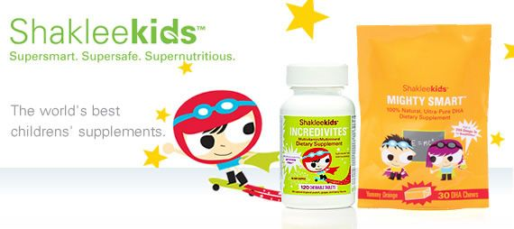 Shakleekids vitamins!  My 3 year-old likes them so much, he tries to swipe his brother's!