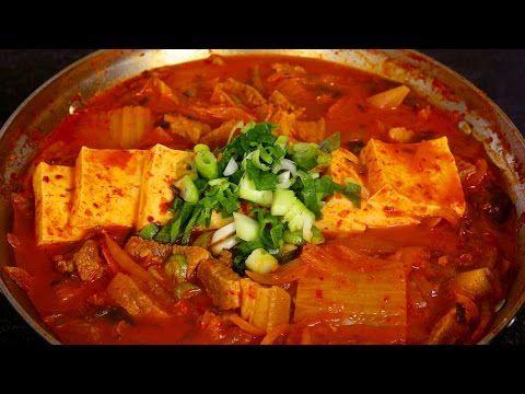 Kimchi stew (Kimchi-jjigae) recipe - Maangchi.com
