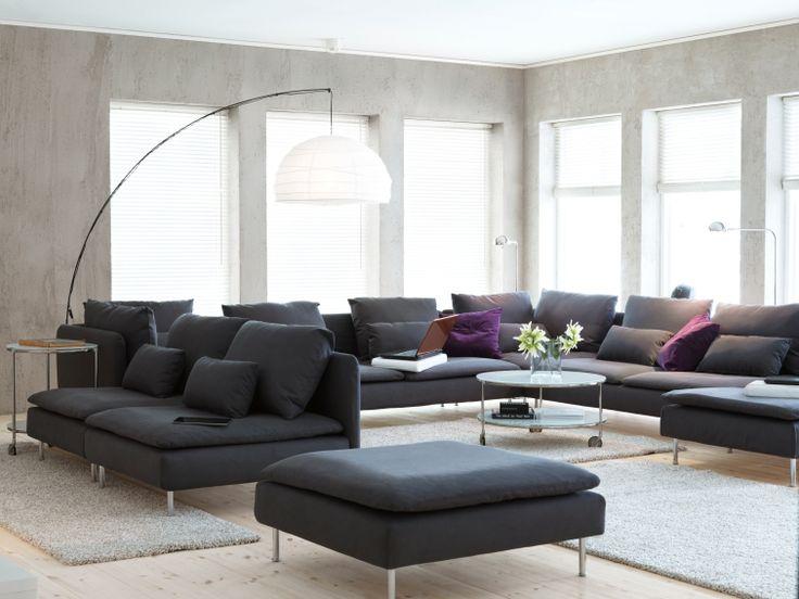 Met de SÖDERHAMN modulaire zitbank kan je een zitbank creëren die perfect past bij de manier waarop jij je ontspant. #IKEA