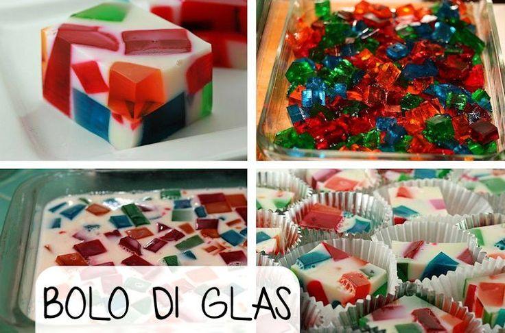 De Bolo di Glas is een leuk nagerecht. De mooie, doorzichtige stukken gekleurde pudding lijken precies op glas-in-lood ramen. Zonder al teveel moeite kun je kinderen heel blij maken met de vrolijke…