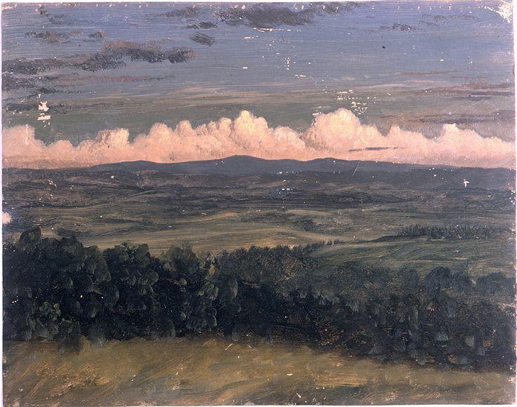 Frederic Edwin Church Catskills From Hudson New York 1870 80