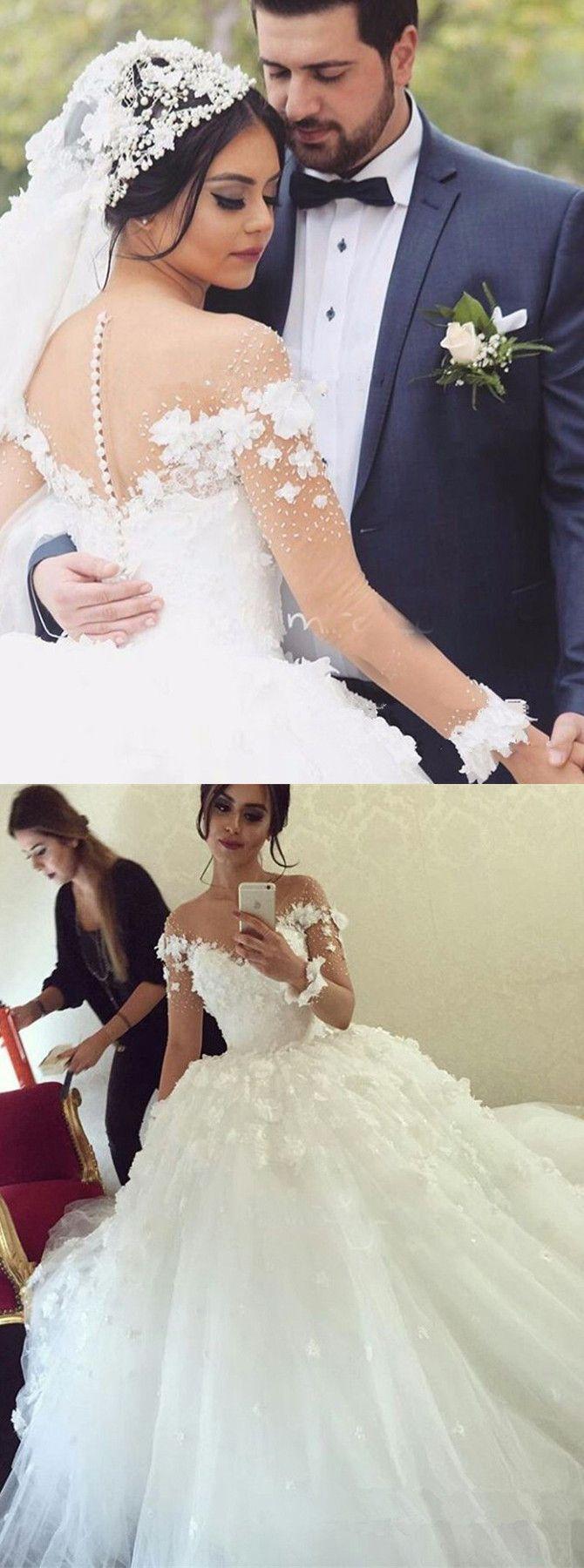 princess wedding dresses,lace wedding dresses,ball gwn wedding dresses,unique wedding dresses,white wedding dresses @simpledress2480