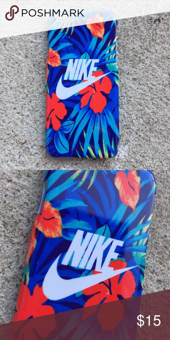 Nike Hawaiian Floral iPhone Case Beautiful and new! Nike Hawaiian Beach Pink Floral Case! Never too late for summer vibes, with such a beautiful case! Make sure to choose the correct model for your phone!  Available for iPhone 6 or 6S, iPhone 6 Plus or 6S Plus, iPhone 7, and iPhone 7 Plus! Ready to ship same or next day from NYC! Nike Accessories Phone Cases