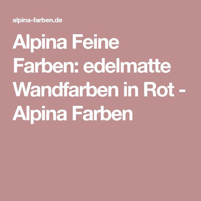 die besten 25 alpina farben ideen auf pinterest alpina. Black Bedroom Furniture Sets. Home Design Ideas