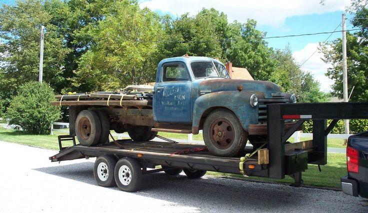 Rich Franklin & his '49 Chevy 6400 2 Ton | LMC Truck Life
