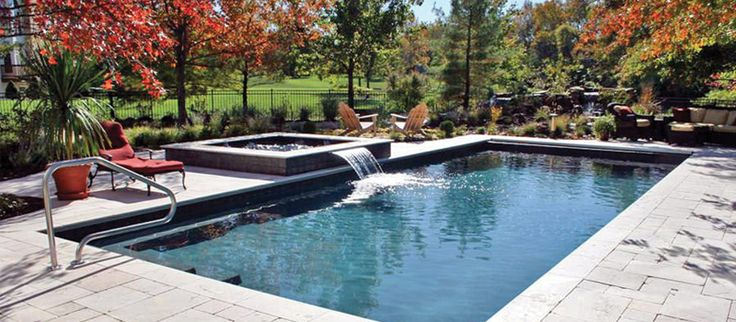 101 swimming pool designs and types photos backyard for Pool design types