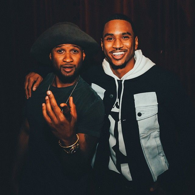 Usher and Trey Songz