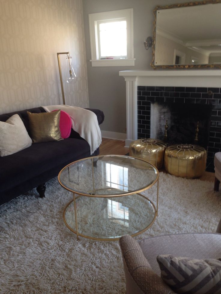 Gold Poufs New Living Dining Room Pinterest Gold Gold Pouf And P