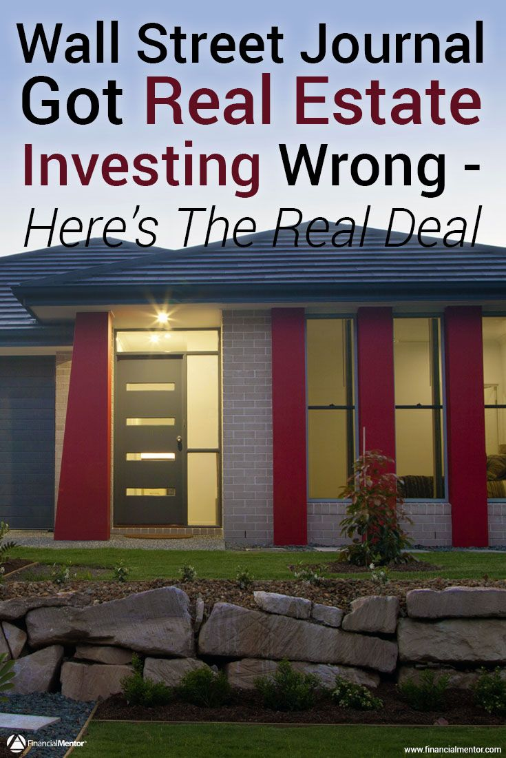 wall street journal got it wrong real estate courses on wall st journal id=44824