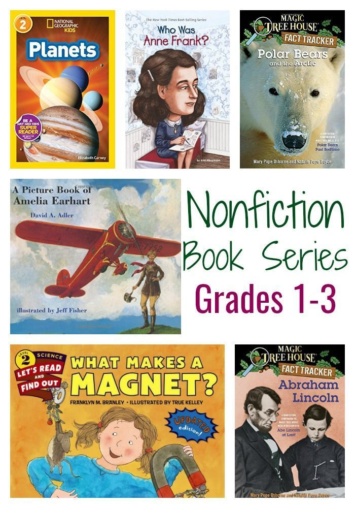 Nonfiction Books Grades 1-3