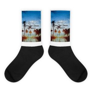 Young Rich Famous good life socks