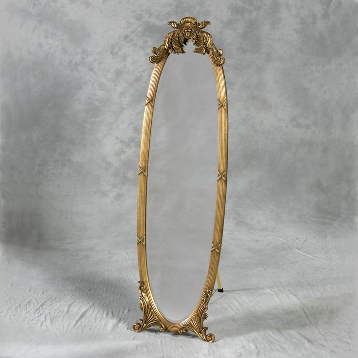 115 best images about cheval mirror on pinterest for Vintage floor length mirror