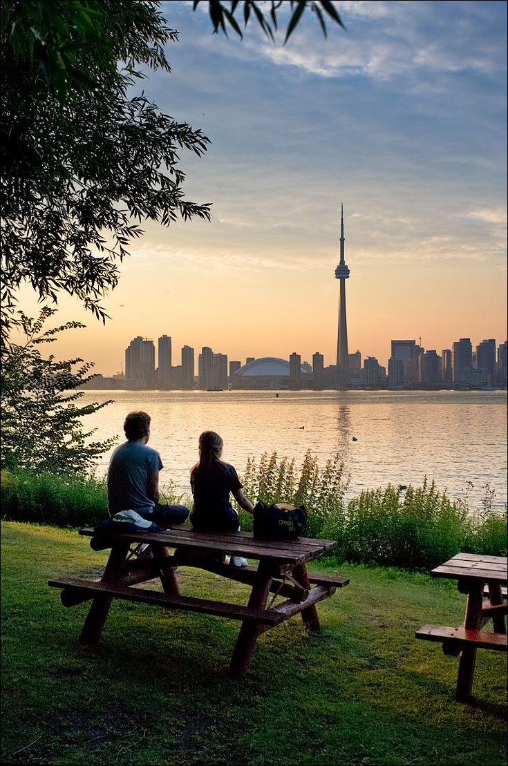 View of city from Toronto Island.