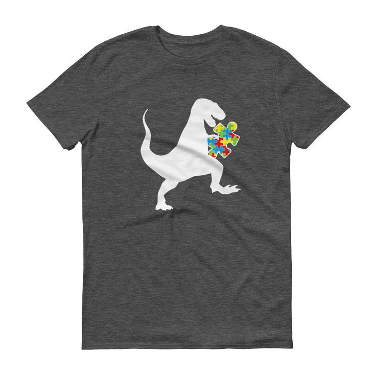 Autism Au-saurus Shirt - Autism Awareness Shirt Tap the link to check out fidgets and sensory toys! Happy Hands Toys!