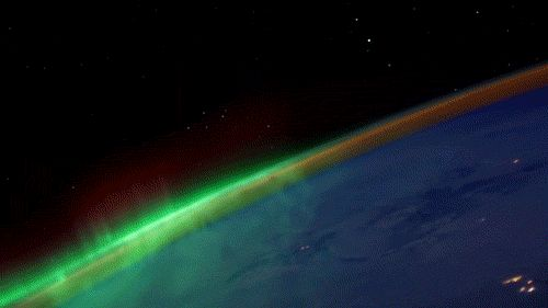 """KNATE MYERS - VIEW FROM THE ISS AT NIGHT 
