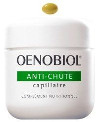Oenobiol Hair Loss Food Supplement 1 Box 60 Pills by Oenobiol Hair Loss Food Supplement 1 Box 60 Pills. $31.80. Against hair loss. Hair loss food supplement. ? Indications : Seasonal loss of hair due to stress, fatigue; to an unbalanced diet or to hereditary factors in both men and in women.  ? Properties : The 5 alpha-reductol®, an exclusive active element of natural origin, attacks the enzyme in the pilary bulb that is responsible for hair loss. It activates hair growth and s...